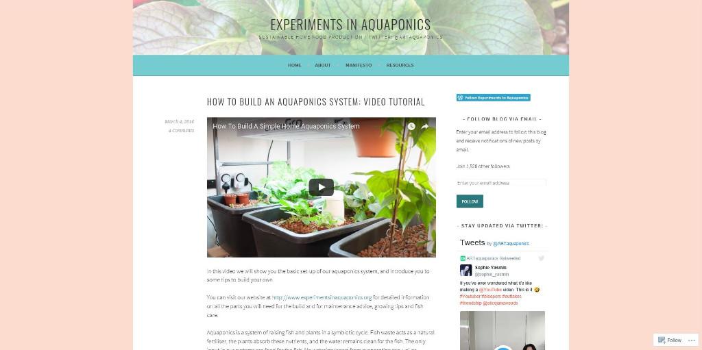 Experiments-in-Aquaponics