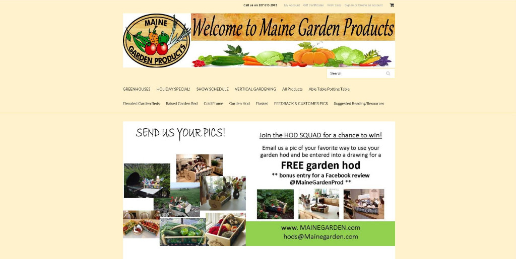 Maine-Garden-Products