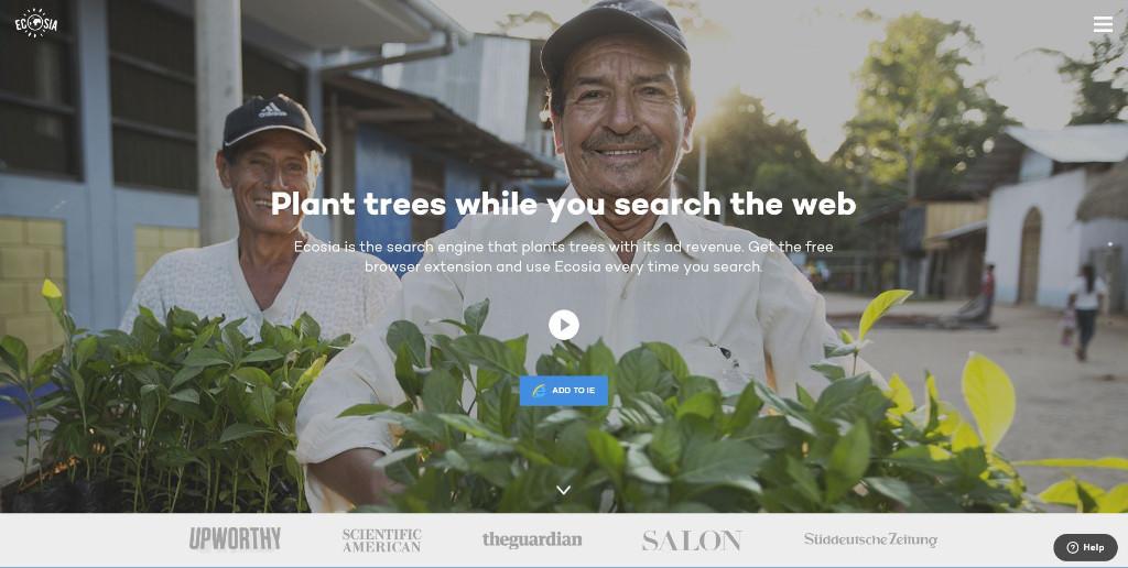 Ecosia-Search-Engine